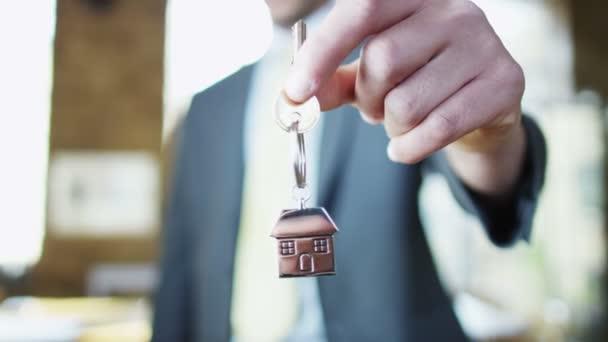 Key symbolising purchase of new home