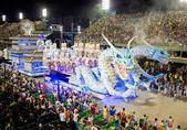 Rio De Janeiro - 11. února: Show s dekorace draci o