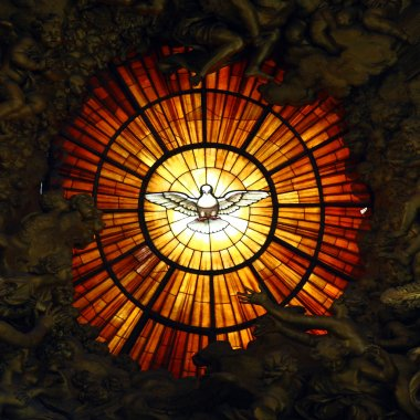 Spirit Glass at the Vatican