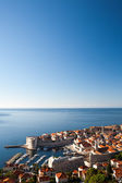 Prohlédni přístavu staré město Dubrovník, Chorvatsko