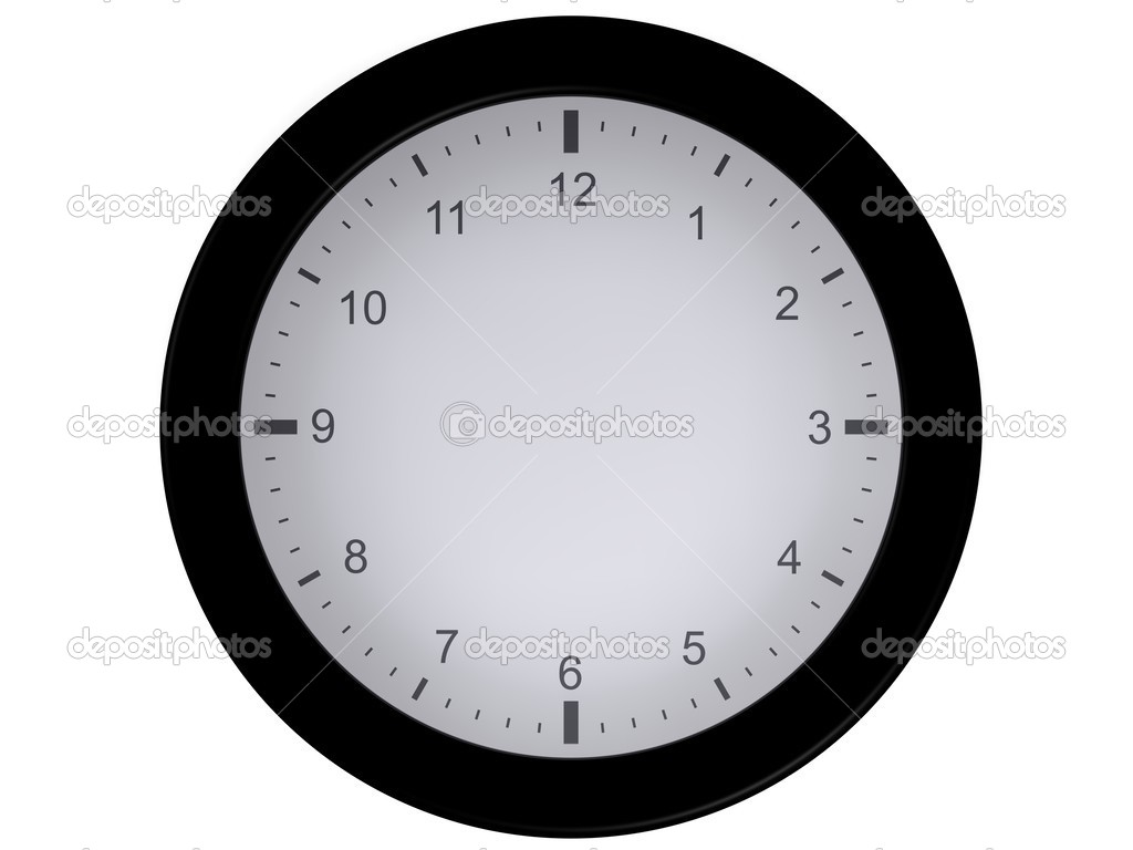 worksheet Clock Blank blank clock without needles stock photo jntvisual 25115895 25115895