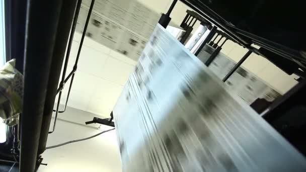 Zobrazit na obrovské press shop typografie počítači