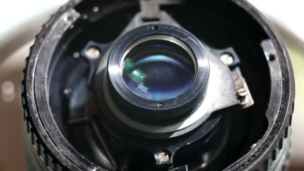 makro detail objektiv fotoaparátu
