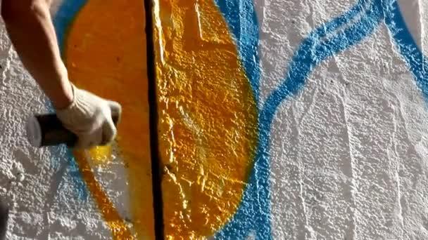 Festés graffiti - szerkesztő vágott