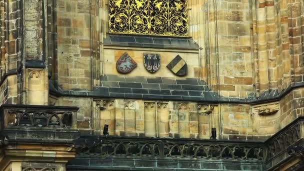 pánev na zdi - podrobnosti architektura katedrály, historického města Prahy