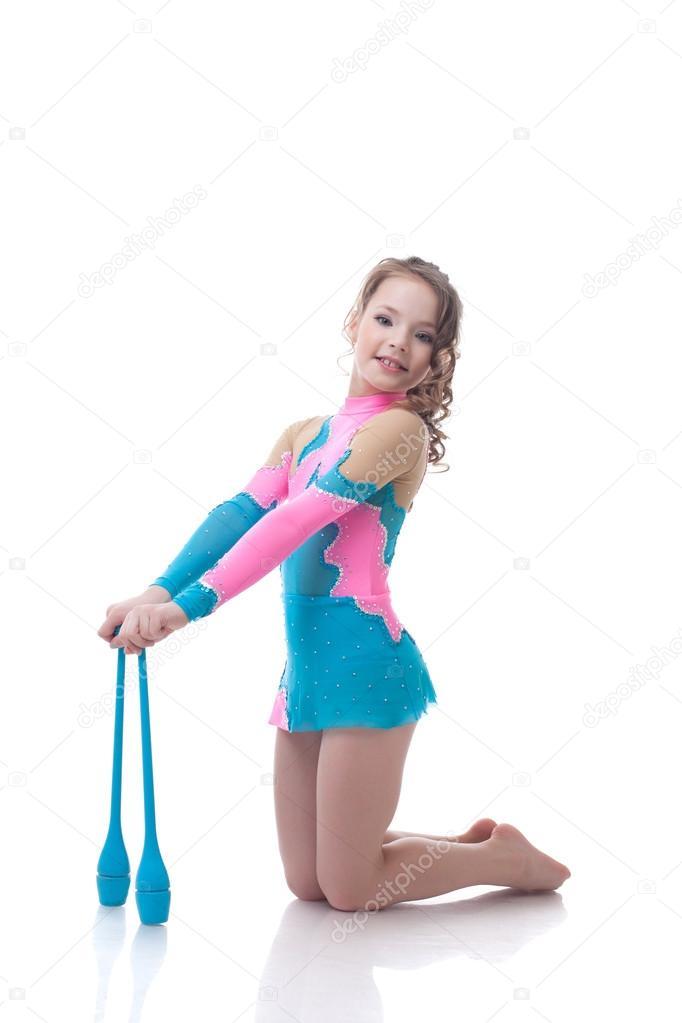 Девочка позирует видео фото 61-226