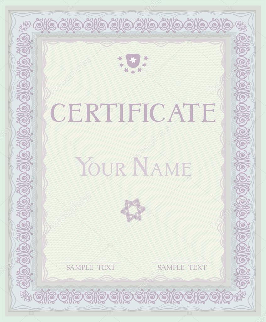 Сертификат Векторный шаблон дипломы Векторное изображение  Сертификат Векторный шаблон дипломы Векторная картинка