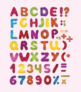 Colorful abc