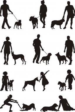 and dog