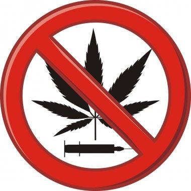 Warning prohibiting drug