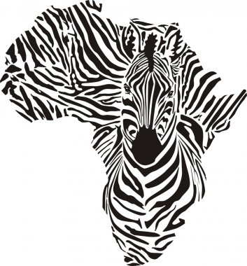 Africa a zebras camouflage