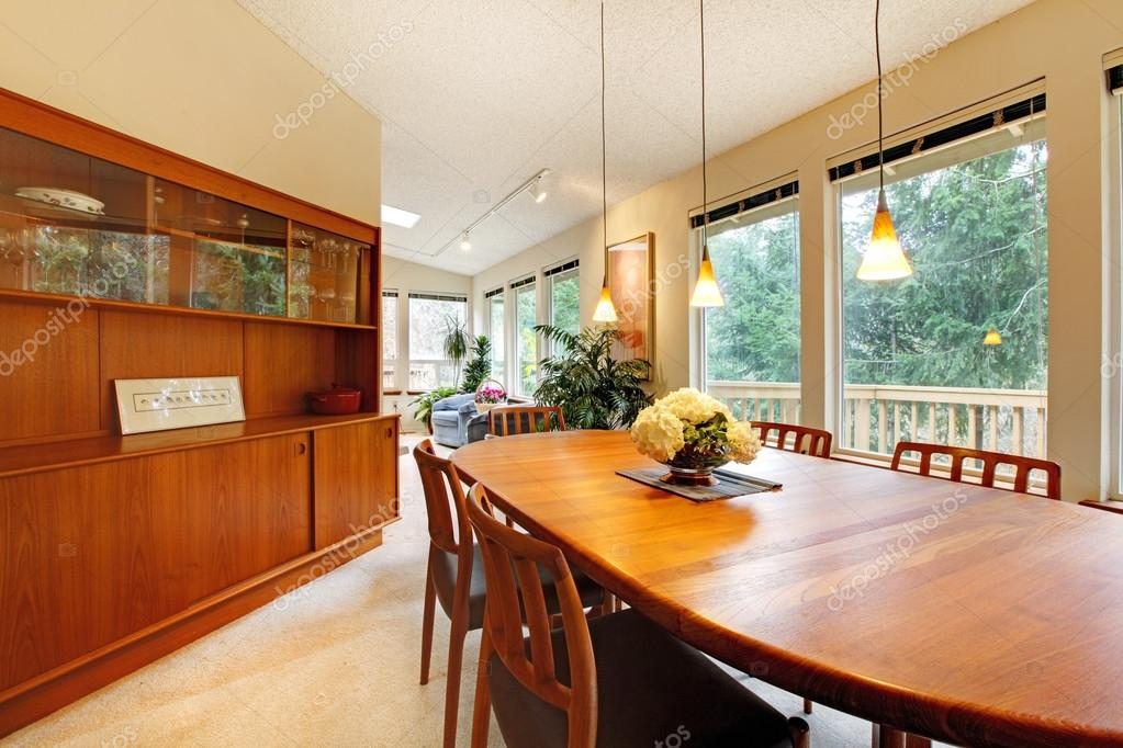 Simple Cute Dining Room Design Stock, Cute Dining Room Table