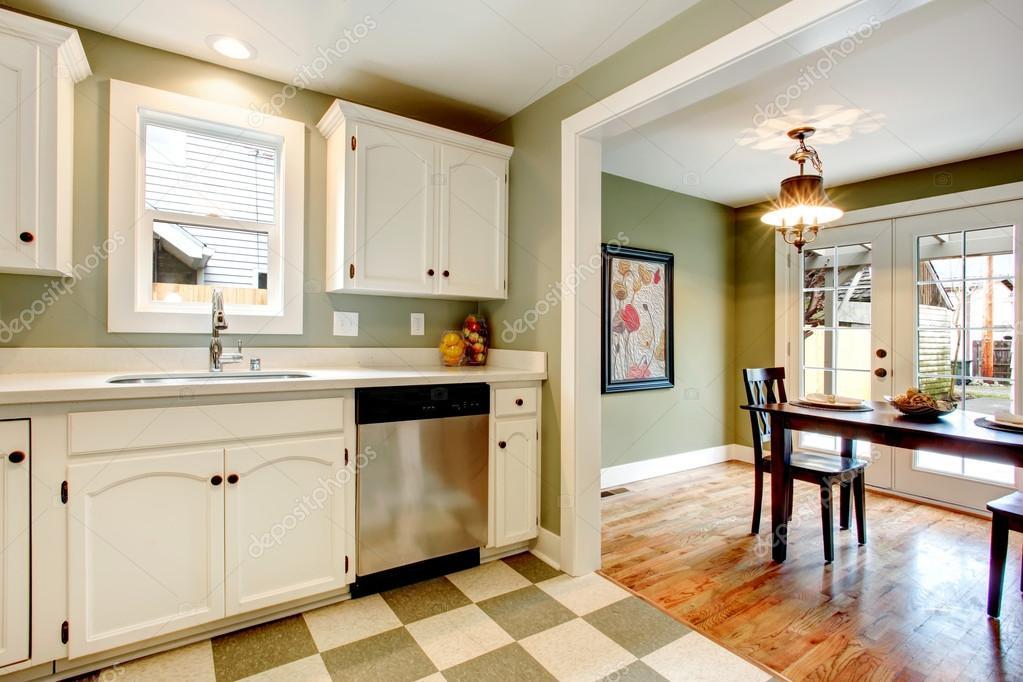 große Farbe Lösung für Küche Raumgestaltung — Stockfoto © iriana88w ...