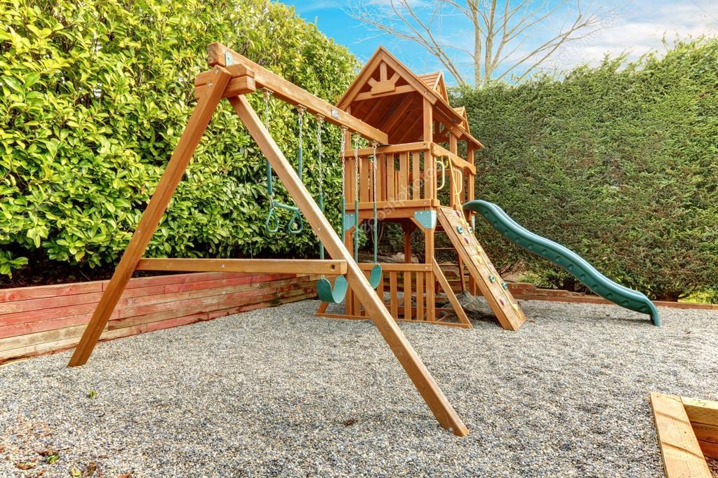 Juegos de jardín para niños — Foto de stock © iriana88w ...