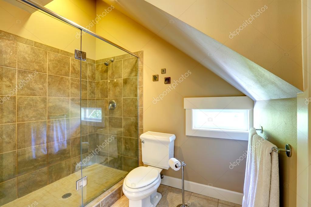 Vaulted Ceiling Cozy Bathroom Stock Photo 169 Iriana88w