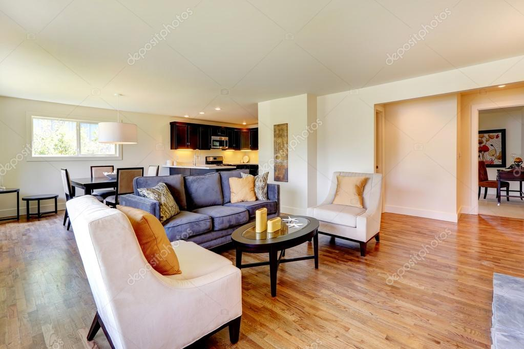 Woonkamer Meubel Set : Huis interieur weergave van woonkamer meubels set u stockfoto