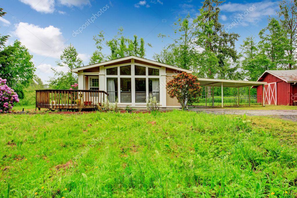 House on farm land