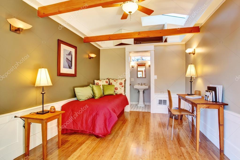 vrijstaande gast huis vakantie verhuur cottage — Stockfoto ...