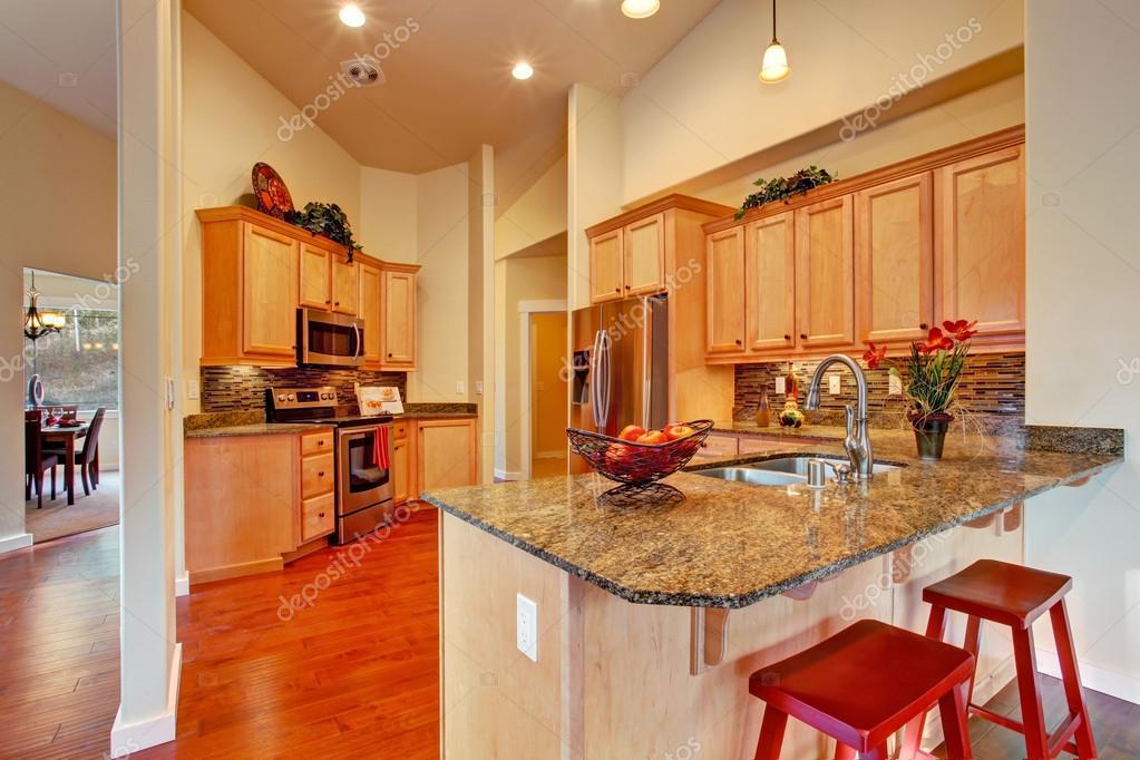 interior sala de cocina moderna — Foto de stock © iriana88w #46060799