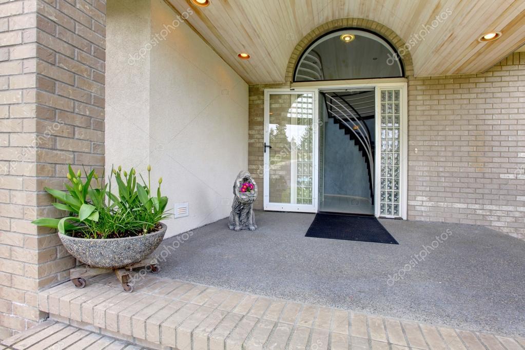 Porche DEntre Maison De Luxe  Photographie IrianaW