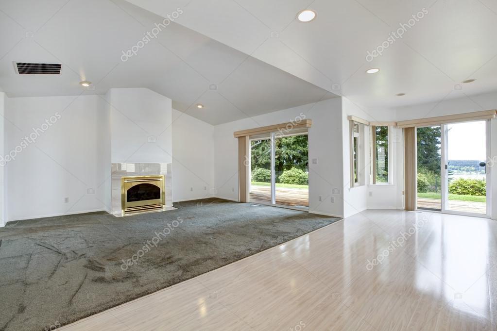 Exceptionnel de la maison. vide salle de séjour avec cheminée et débrayage  ND19