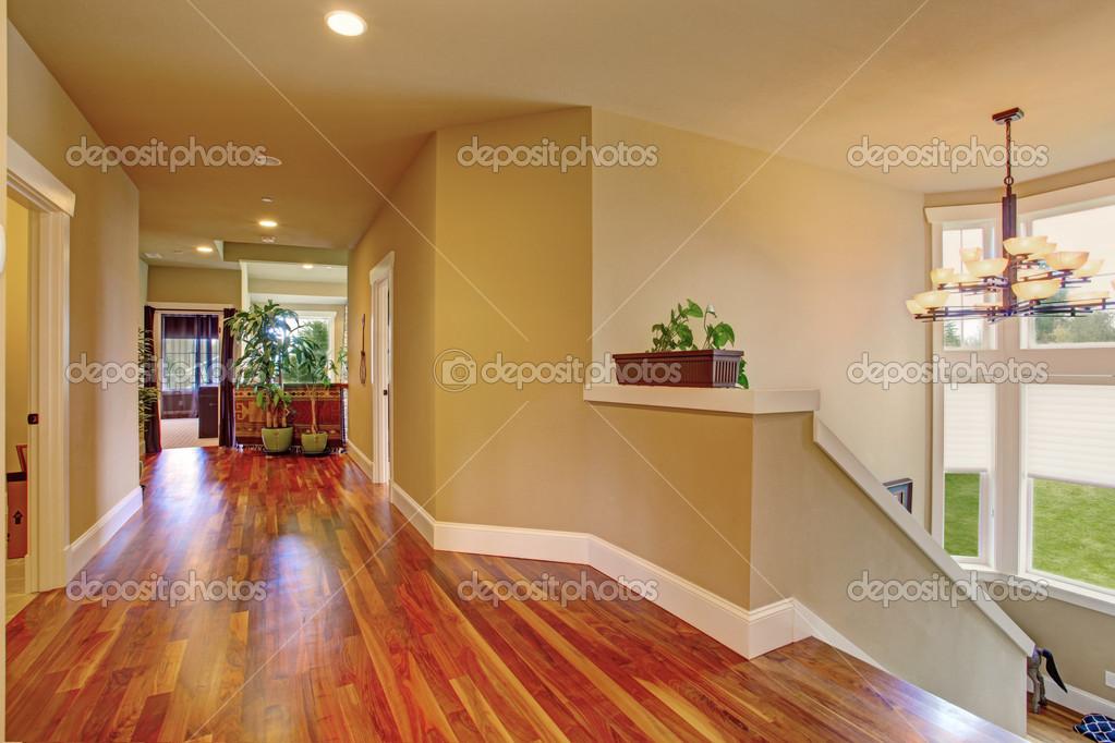 amplio pasillo en casa de lujo — Foto de stock © iriana88w #49166465