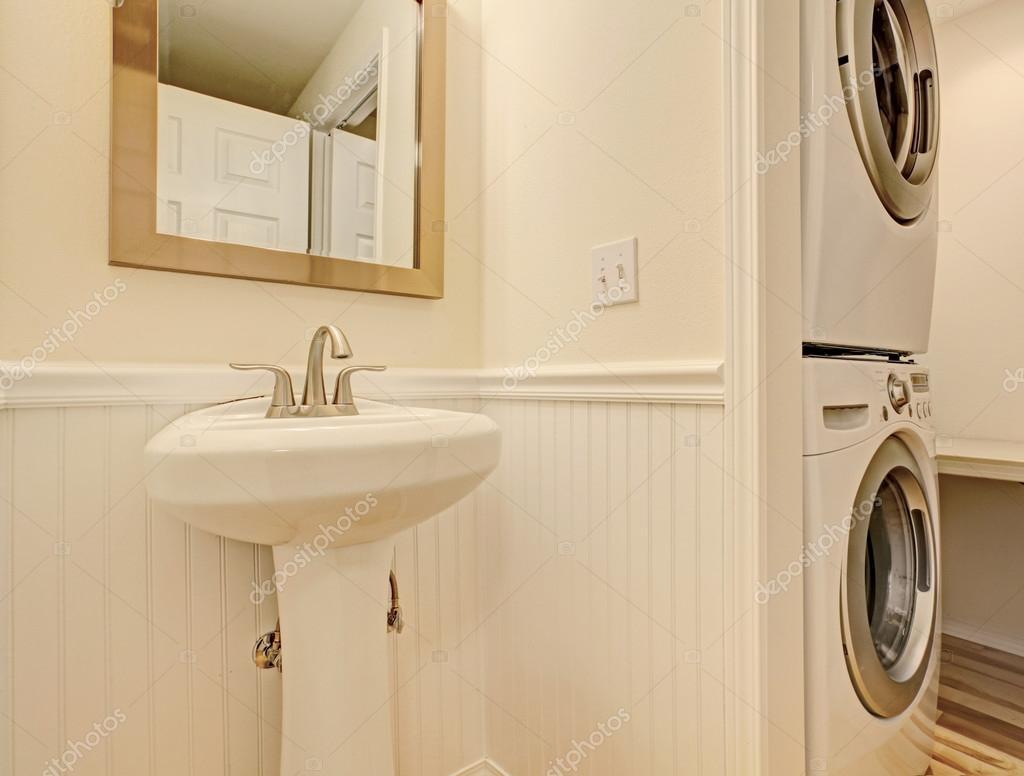 Mobile bagno con lavabo e lavatrice con come scegliere il lavabo