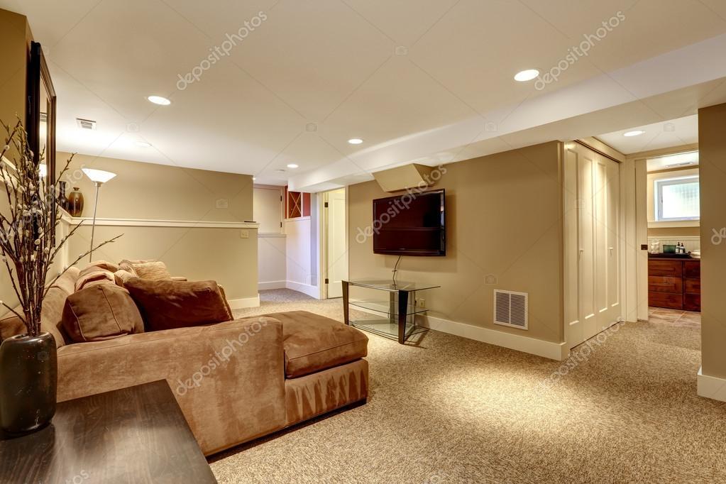 warme woonkamer interieur — Stockfoto © iriana88w #50098293