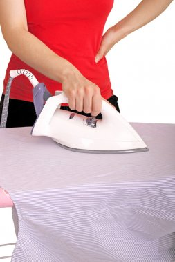 Doing the ironing