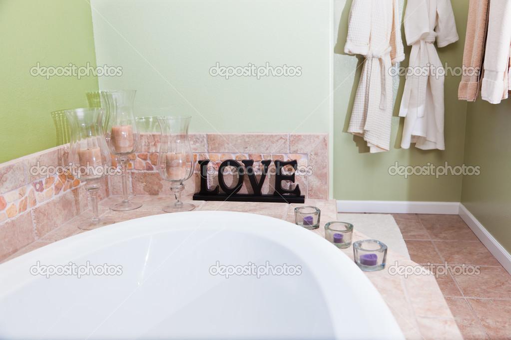 Amour en salle de bain