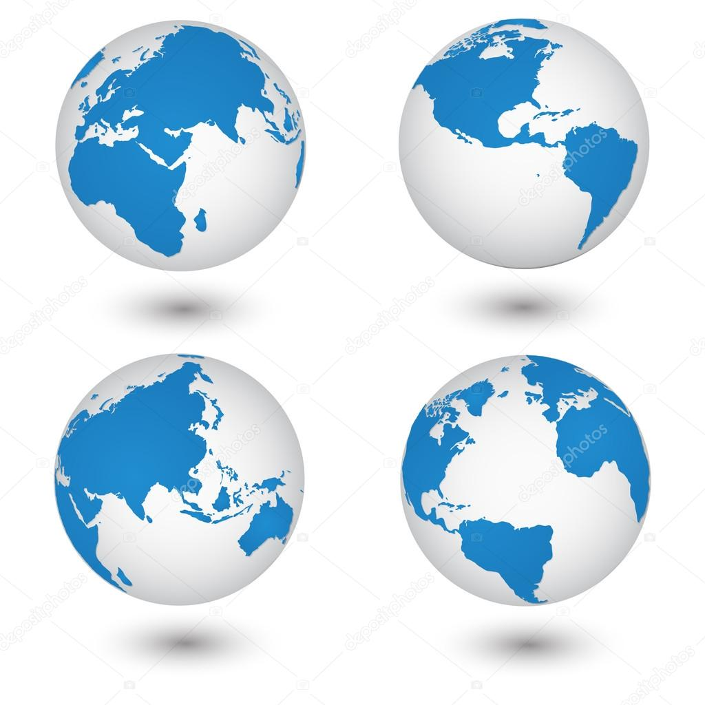 World map and globe detail vector illustration eps 10 stock world map and globe detail vector illustration eps 10 stock vector gumiabroncs Image collections