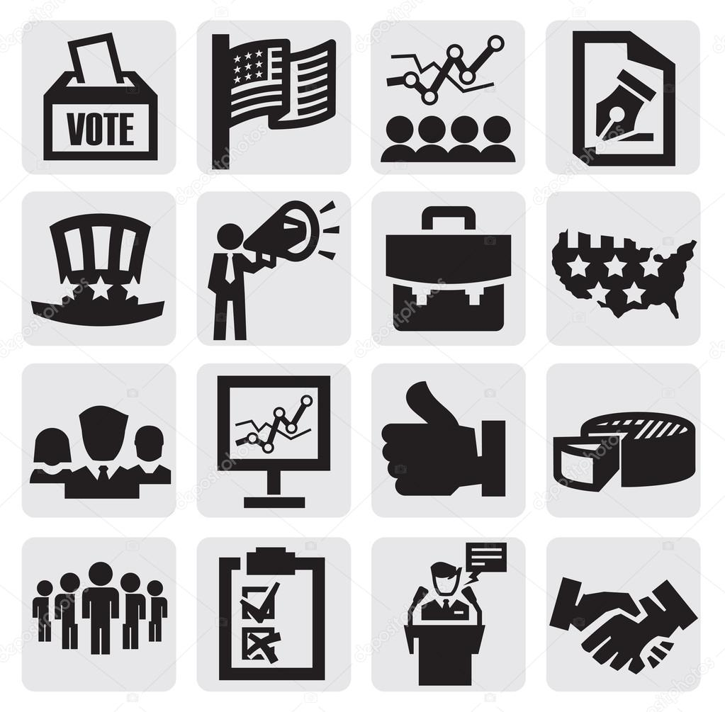 Election icons