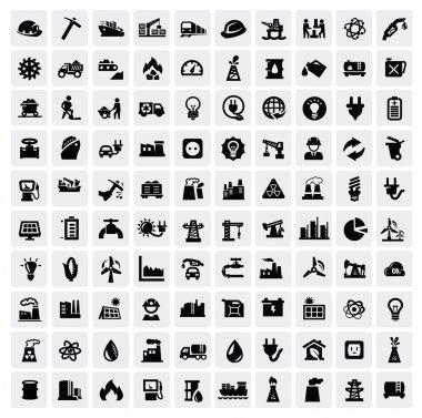 промышленные символы установлены