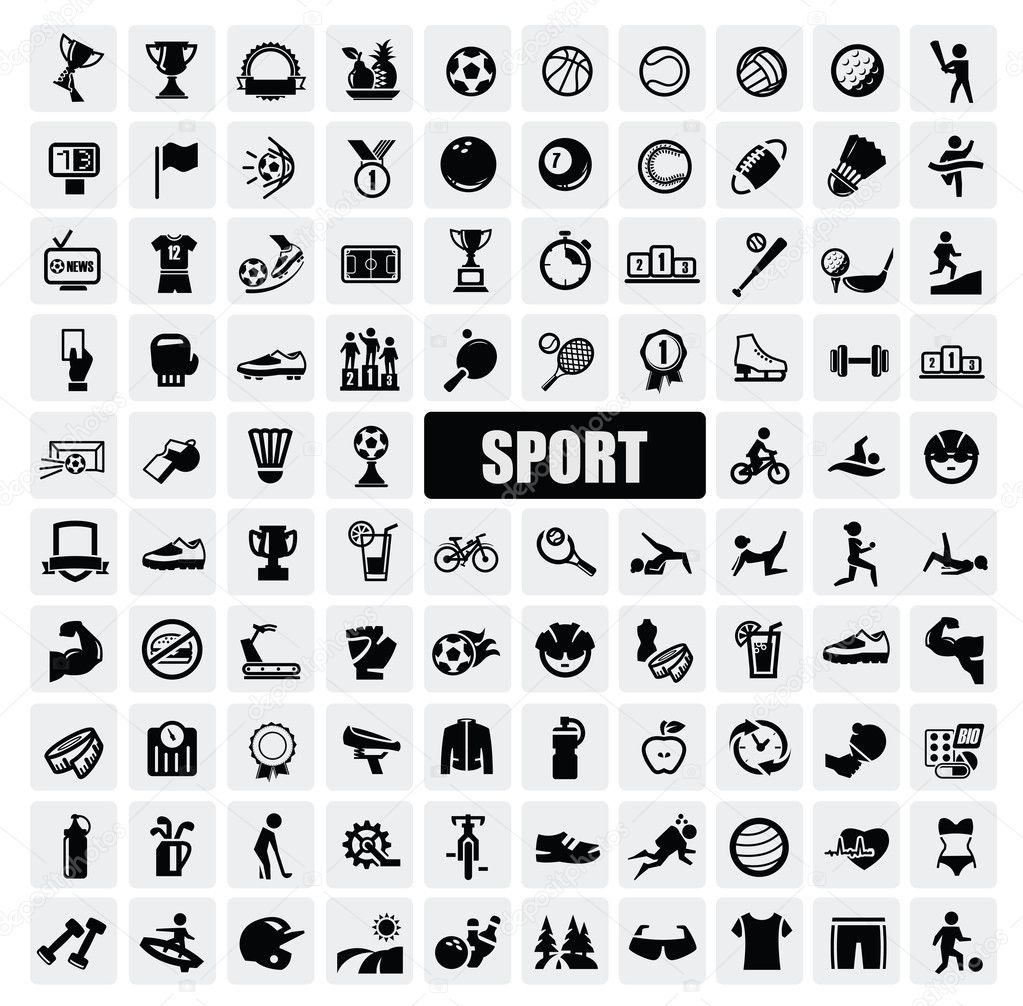 Sports icons