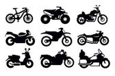 Photo Motorcycles and bicycles