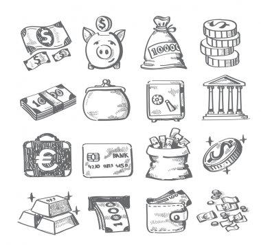 Hand draw money