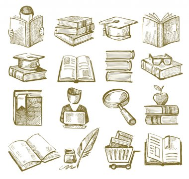 Hand draw books