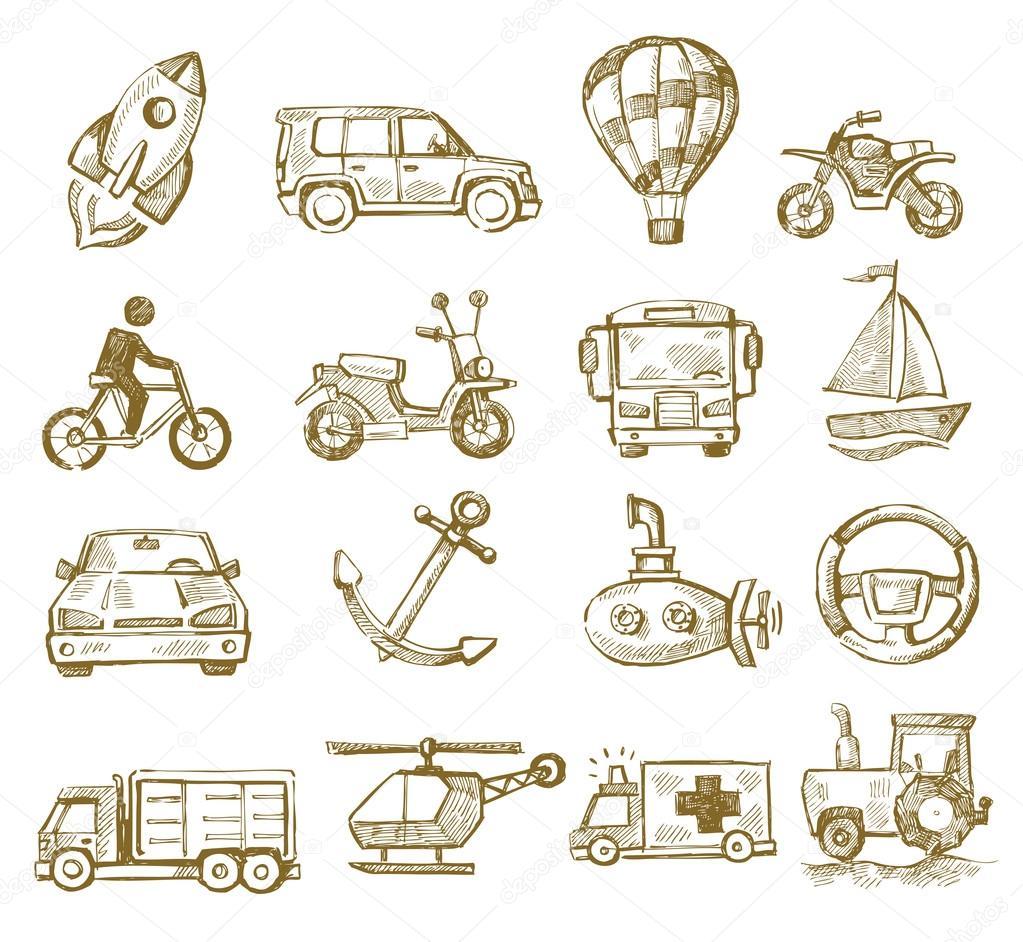 Hand drawn transport