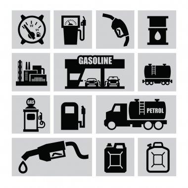 Petrol icons