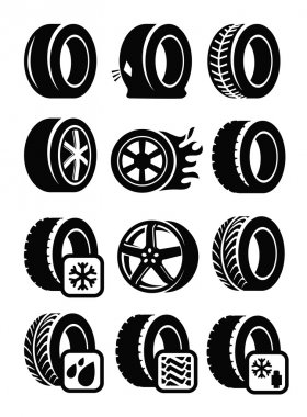 Tyre icons