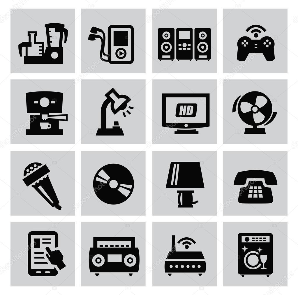 Elektronische Geräte — Stockvektor © bioraven #31496843