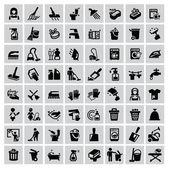 Fényképek Takarítás ikonok