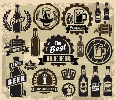 Beer pub labels