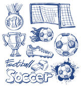 Fotografie Soccer icon set