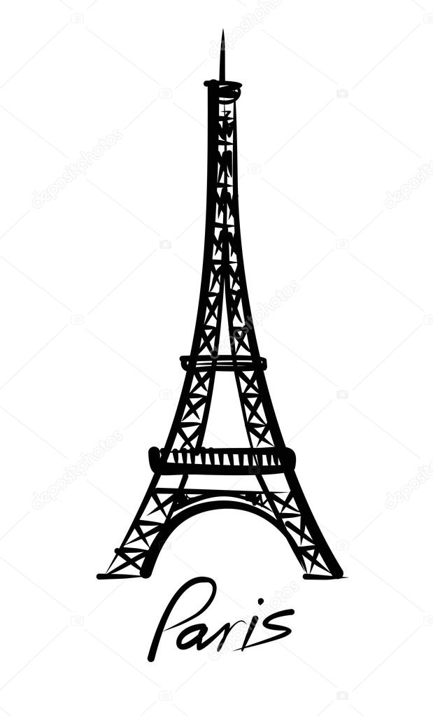 Vector eiffel tower stock vector bioraven 37622637 vector eiffel tower stock vector thecheapjerseys Gallery