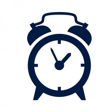 Alarm clock icon stock vector