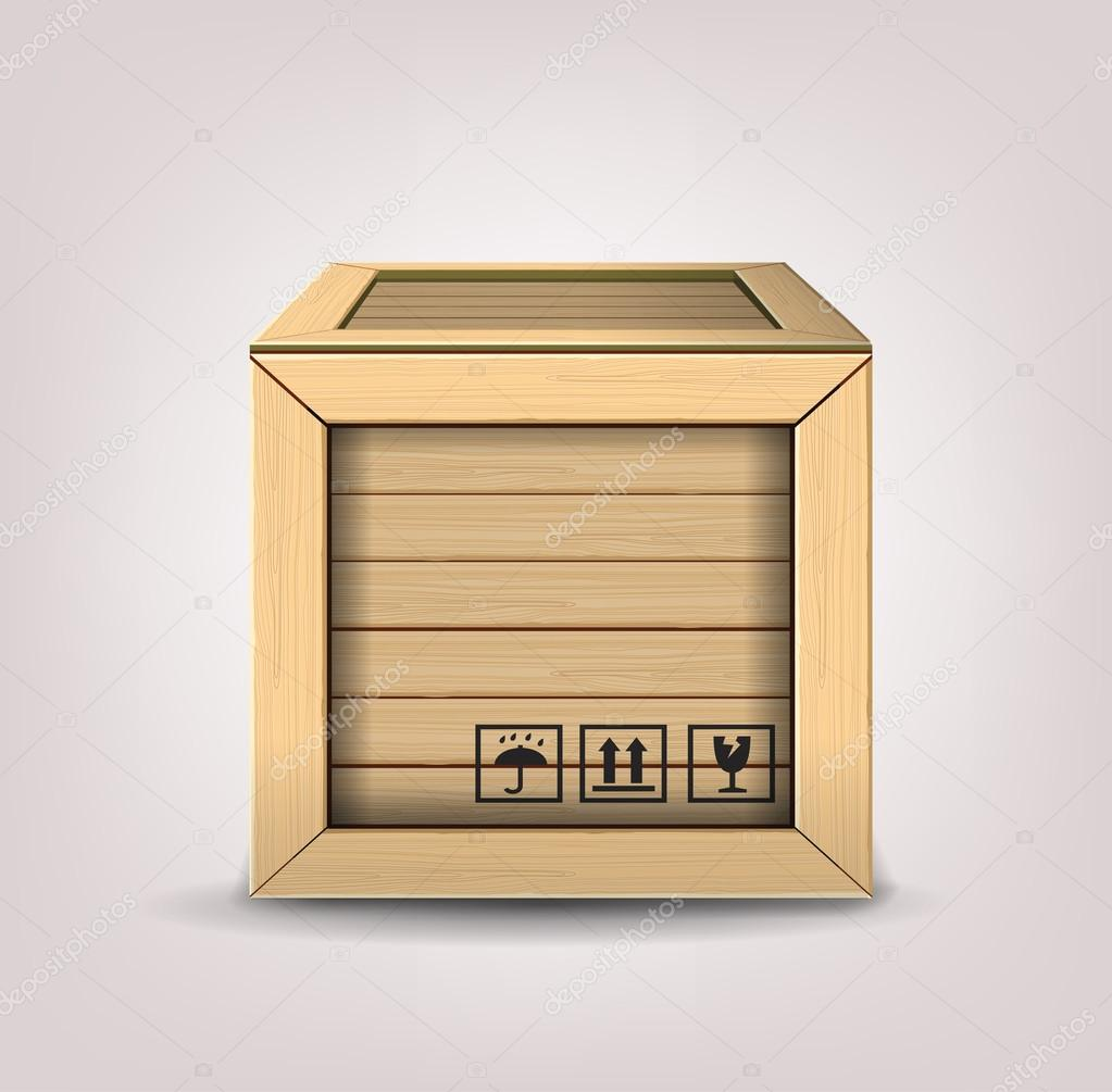 Wooden box stock vector bioraven 39322105 wooden box stock vector buycottarizona Gallery