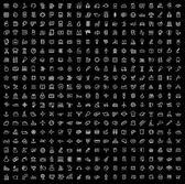 Fényképek vektor fekete 400 univerzális web ikonok beállítása
