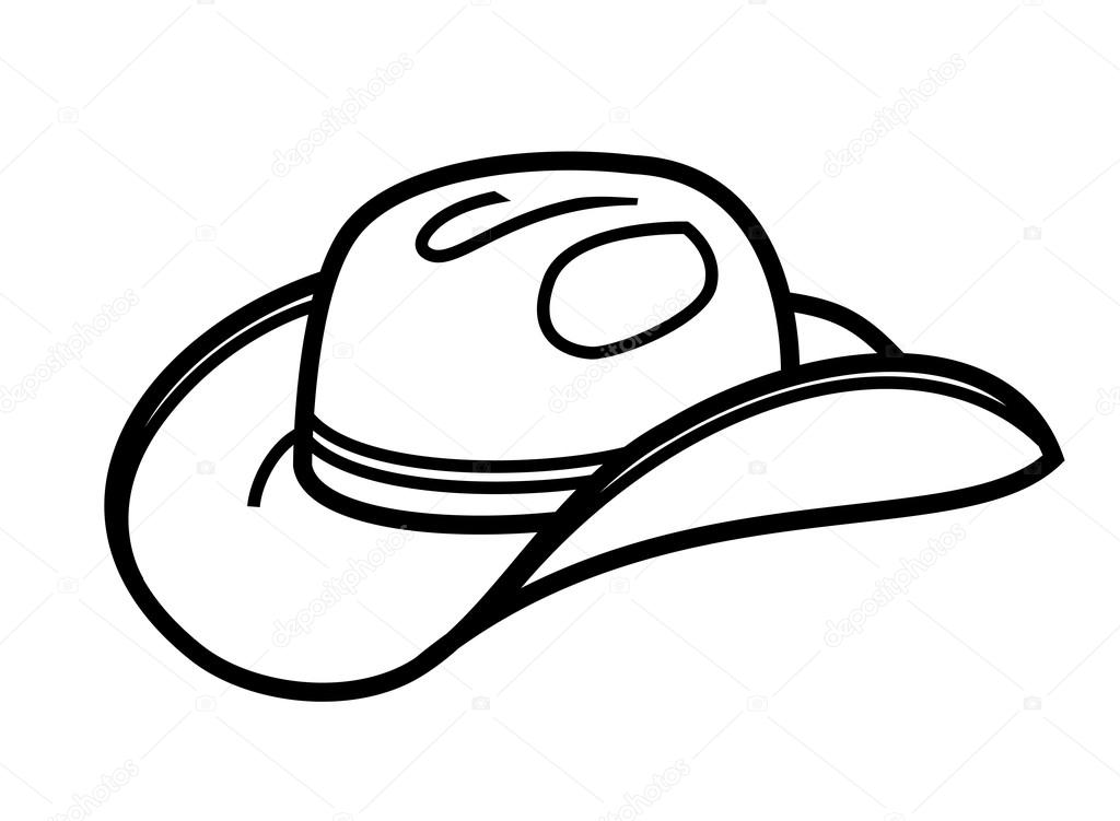 Ícone de vetor chapéu de cowboy preto no branco — Vetor por bioraven.  Encontrar imagens similares d3d3f1c7454
