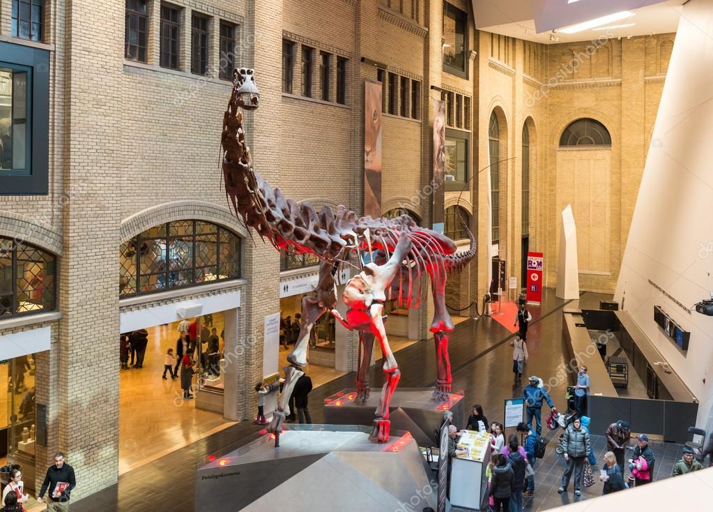 Entrance Royal Ontario Museum in Toronto